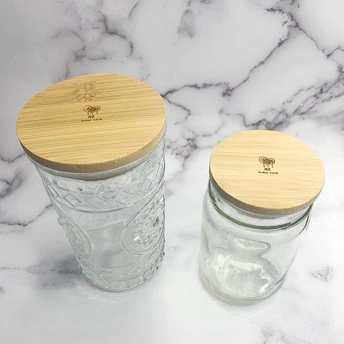 Solid Bamboo Mason Jar lids - Standard