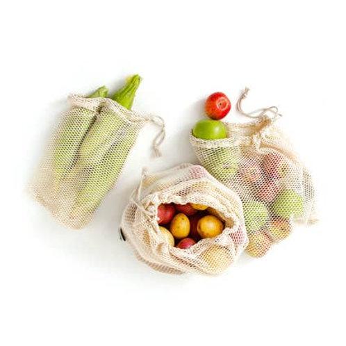 Cotton Mesh Produce Bag