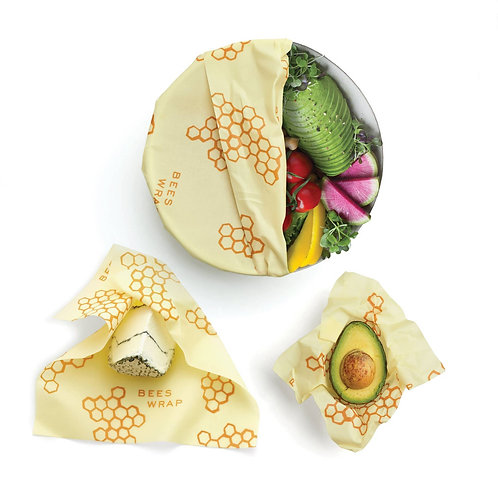 Bee's Wrap - Honeycomb - Cheese Wrap - Pack of 3
