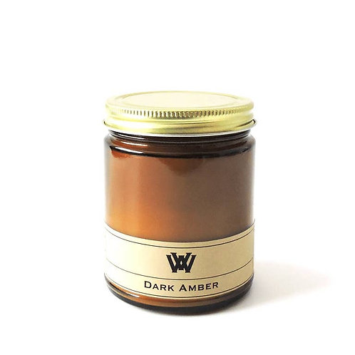 Soy Candle - 7.2 oz Dark Amber