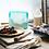 Thumbnail: Stasher: Reusable Silicone Stand-Up Mid Bag (Aqua)