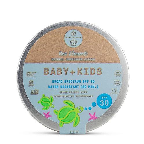 Baby & Kids Tin SPF 30 - Plastic Free