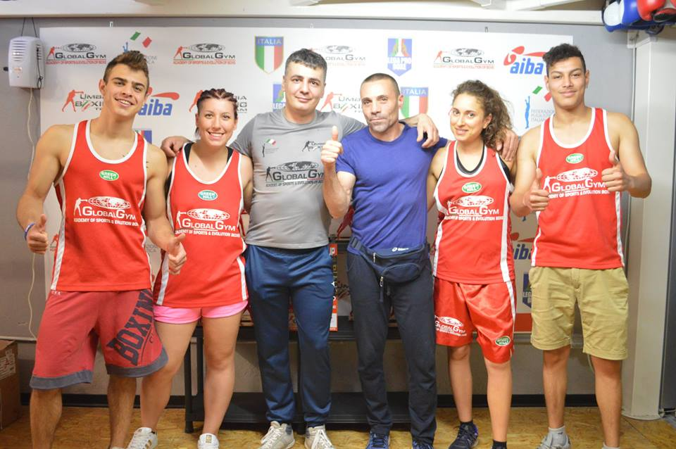 global gym boxing team
