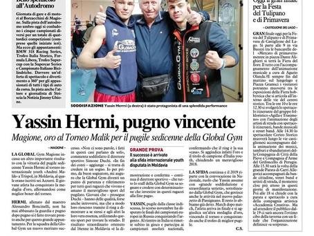 Yassin Hermi e il Maestro Boncinelli!