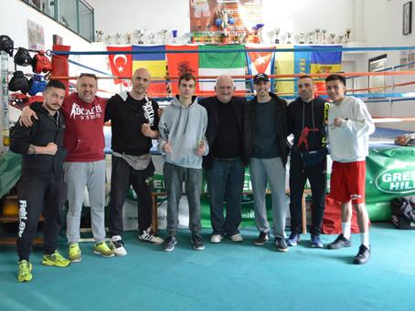 Sparring session alla Fight Gym di Grosseto