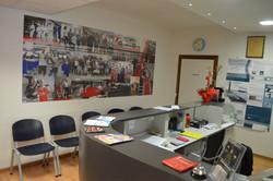 Reception Global Gym Montepetriolo