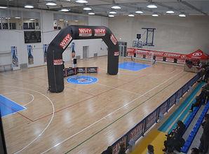 palazzetto dell sport passignano sul trasimeno basket plavolo ginnastic badminton pattinaggo