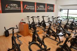 Sala Spinning Global Gym Montepetrio