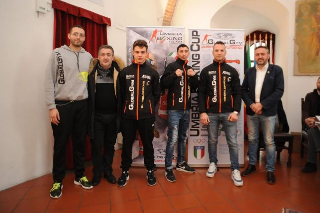 umbria boxing team