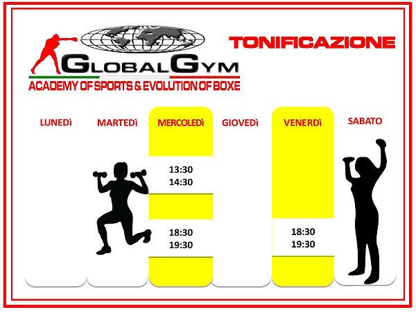 tonificazione magione global gym palestra