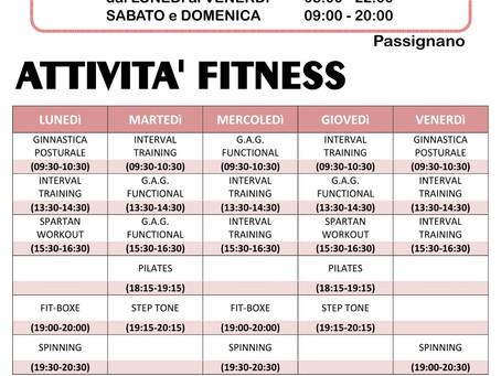 Corsi e Attività Global Gym Passignano