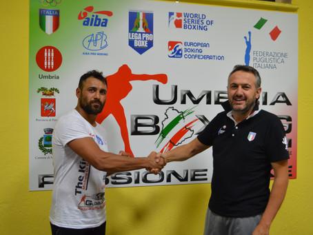 Il campione europeo Michele Di Rocco si allenerà nella palestra di Magione