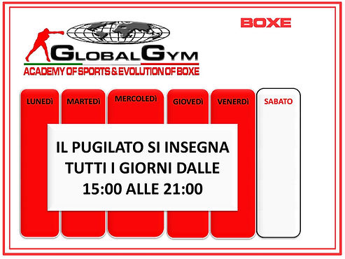 Global Gym Boxe Tre Firenze Pugilato Boncinelli