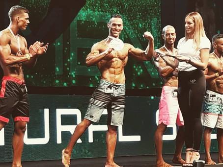 Global Gym Natural BodyBuilding sul podio di Rimini Wellness