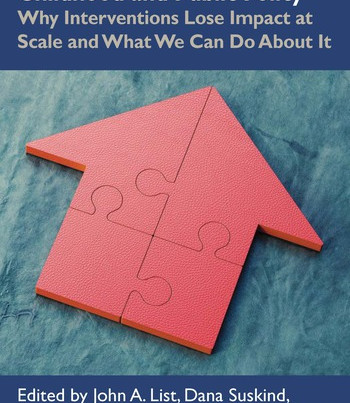 New Book on the Science of Scaling Early Childhood and Public Policy