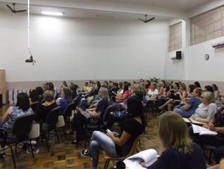 Formação Continuada Professores e Funcionários fevereiro 2018.
