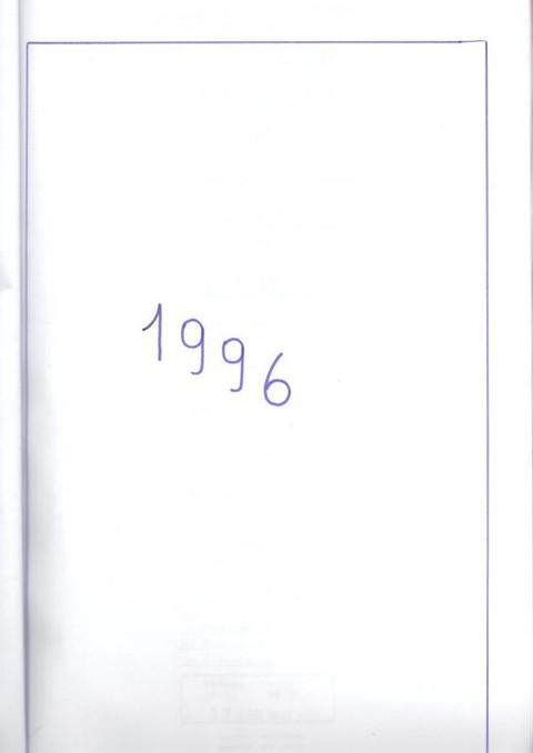 RELATÓRIO DE 1996 e 1997