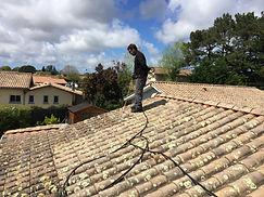 démoussage de toiture avec Clean Toiture