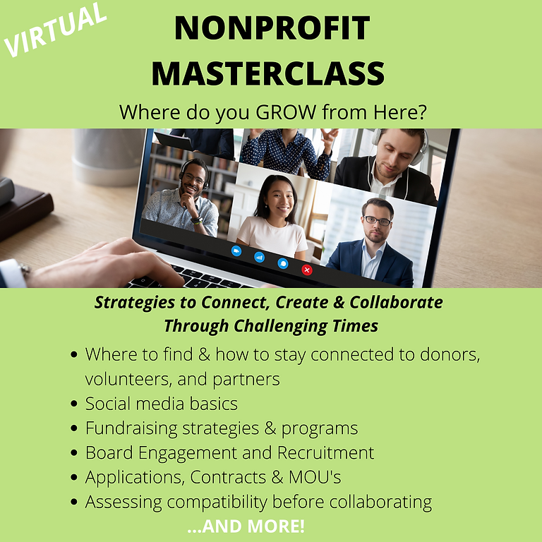 Nonprofit 3 Day Masterclass (General)