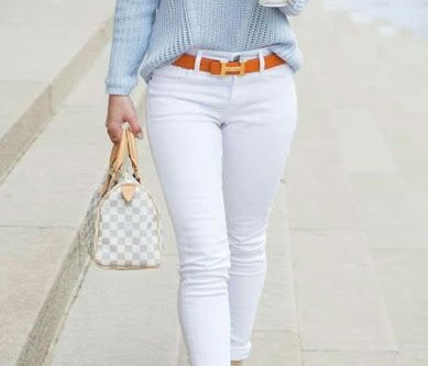 5 Looks usando: Calça Branca