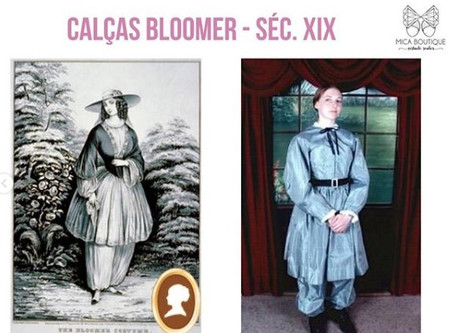 Você Sabia?  Curiosidade sobre as calças femininas.