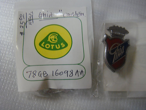 Cortina MK3/Capri MK2 Ghia Badge