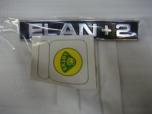 Elan +2 Badge (Used)