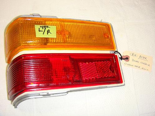 Cortina MK2 Left Tail Light Assembly w/o Bezel