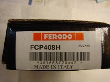 Cosworth Rear Brake Pads (Ferrodo) DS2500
