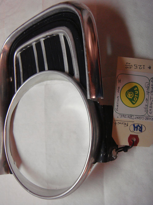 Cortina MK2 RH Headlight Bezel (Late Style)