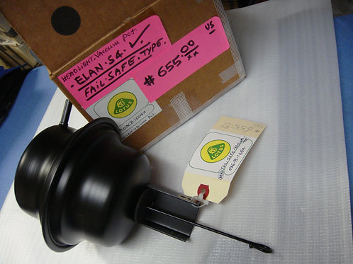 Elan Headlight Vacuum Pot (Failsafe Type) (New)