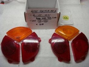 Cortina MK1 Tail Light Lens Set (Used)