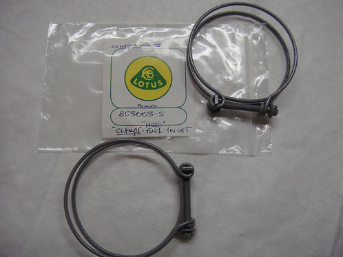 Cortina MK2 Fuel Tank Inlet Hose Clamps