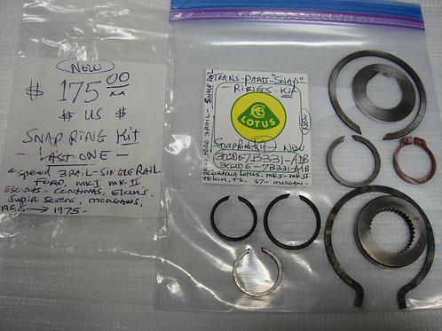 Cortina Transmission Snap RIng Kit