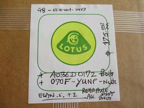 Elan Rotoflex Coupling Bolt Set (Later Style)