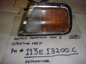 Cortina MK1 Right Turn Signal Light Assembly