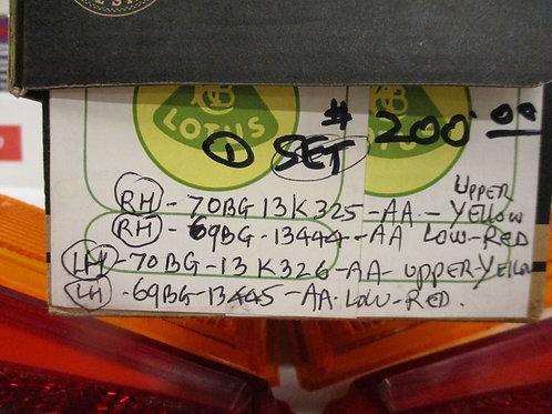 Cortina MK2 Tail Light Lens Set (Used)