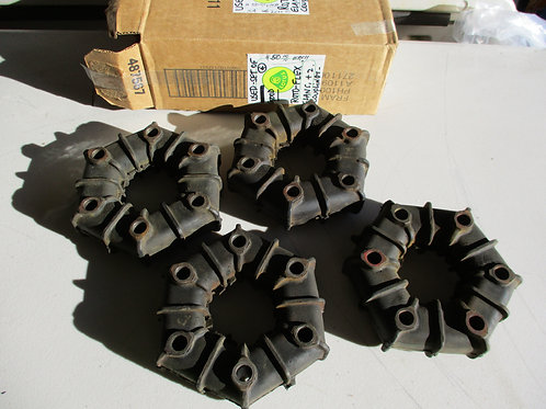 Elan Rotoflex Coupling Set of 4 (Later Style) (Used)