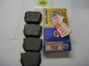 Elan Rear Brake Pad Set Mintex