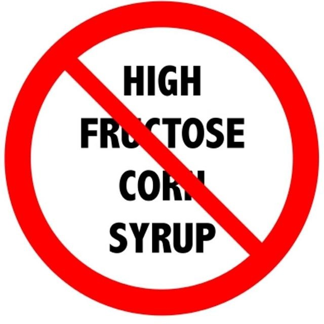 No high fructose corn syrup!!! There is