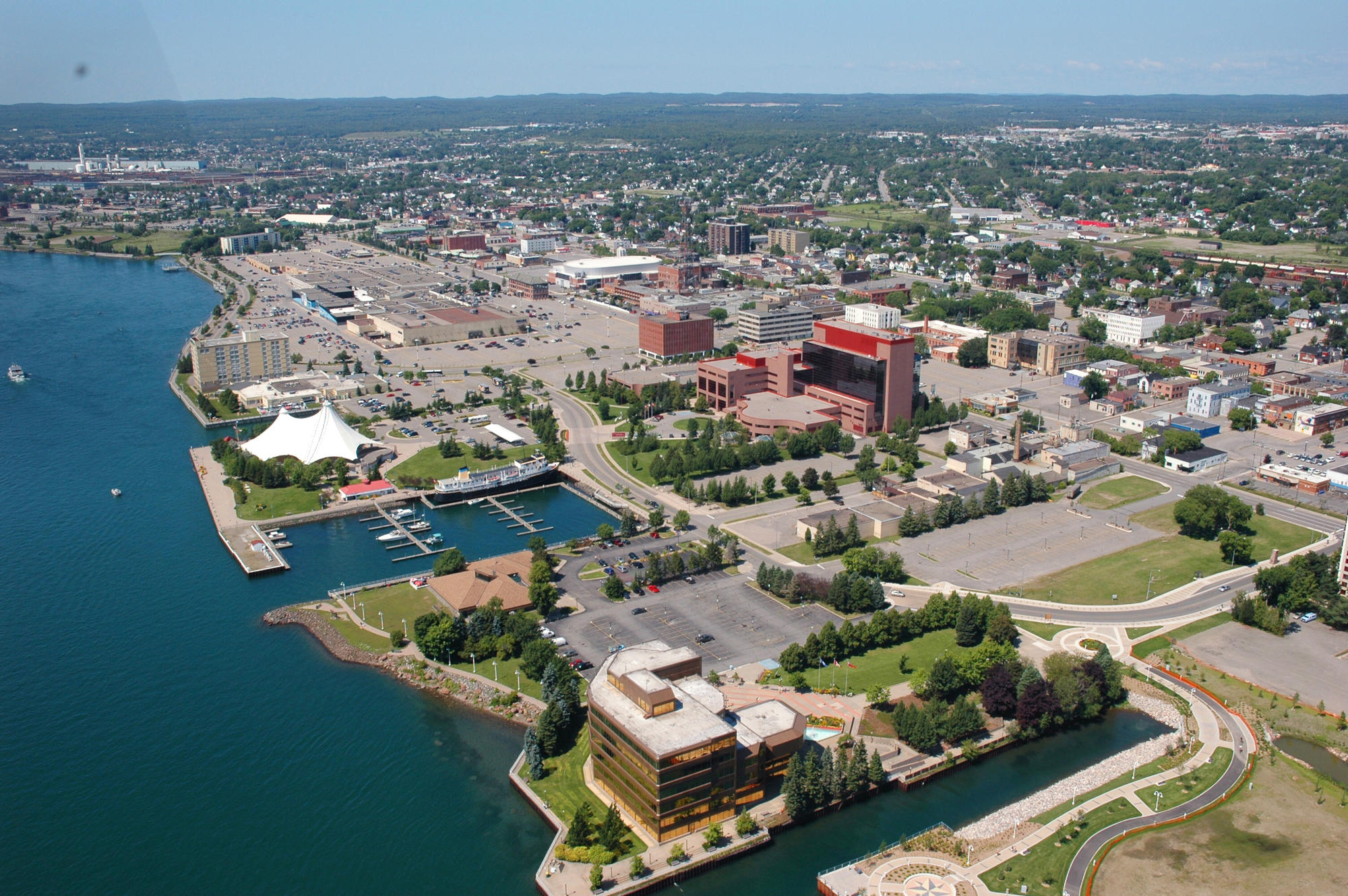 Sault Ste Marie from Above_11