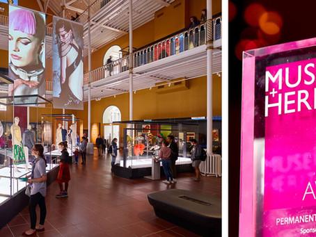 METAPHOR WINS MUSEUMS & HERITAGE AWARD
