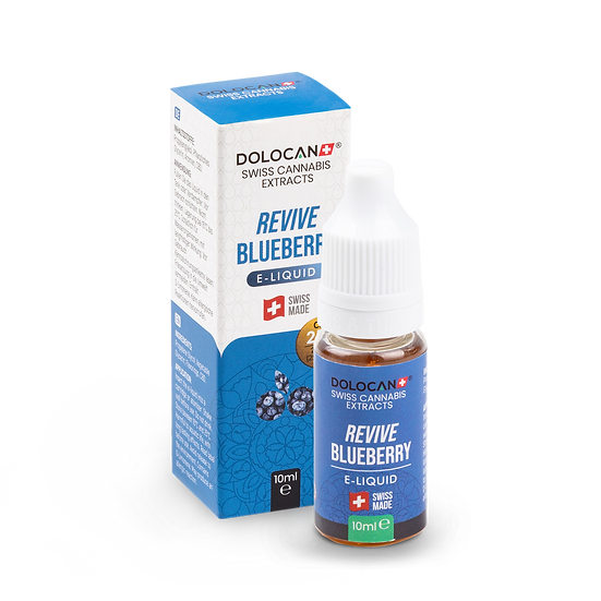 DOLOCAN REVIVE Blueberry E‑Liquid 25% CBD