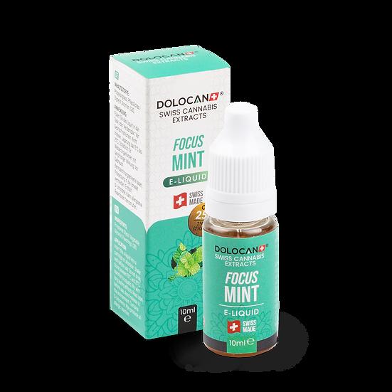 DOLOCAN FOCUS Mint E‑Liquid 25% CBD