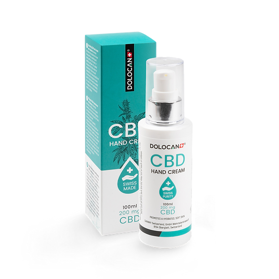 DOLOCAN CBD Hand Cream 100ml, inkl. 200mg CBD 100 ml