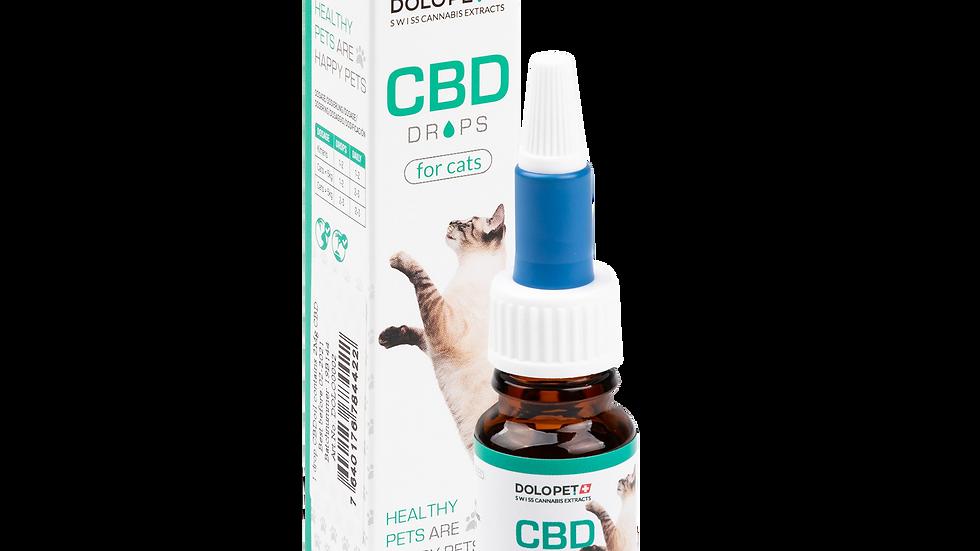 DOLOPET CBD Drops for Cats 10ml, inkl. 400mg CBD