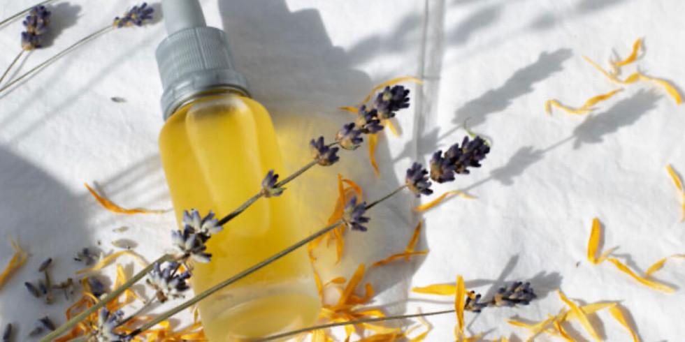 DIY Winter Bath and Body Oil