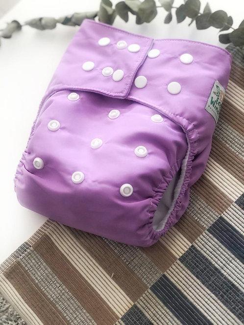Pañal lila  + inserto absorbente