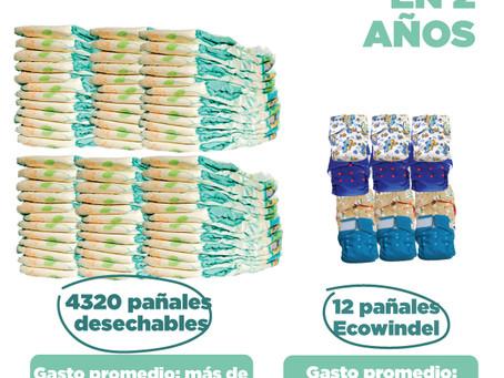 Pañales desechables vs. Pañales reutilizables: ¿Cuál escoger?
