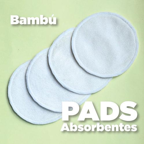 Pads absorbentes de Bambú para lactancia